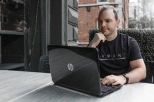 Online Personal Training from Evolve Belfast Noel on Laptop